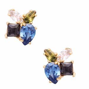 KATE SPADE Flying Colors Cluster Studs Earrings